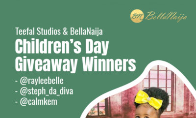 The BellaNaija Living & Teefal Studios Children's Day Giveaway WINNERS!