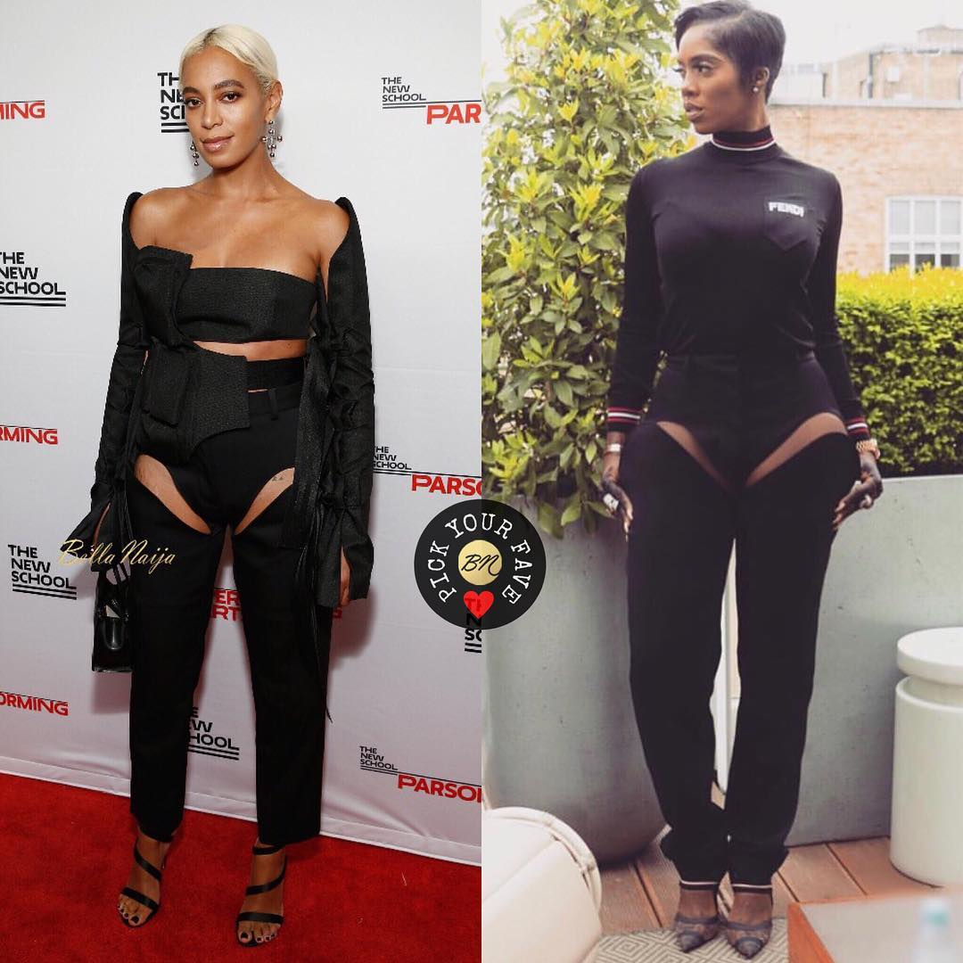 BN Pick Your Fave: Tiwa Savage and Solange Knowles in Y Project