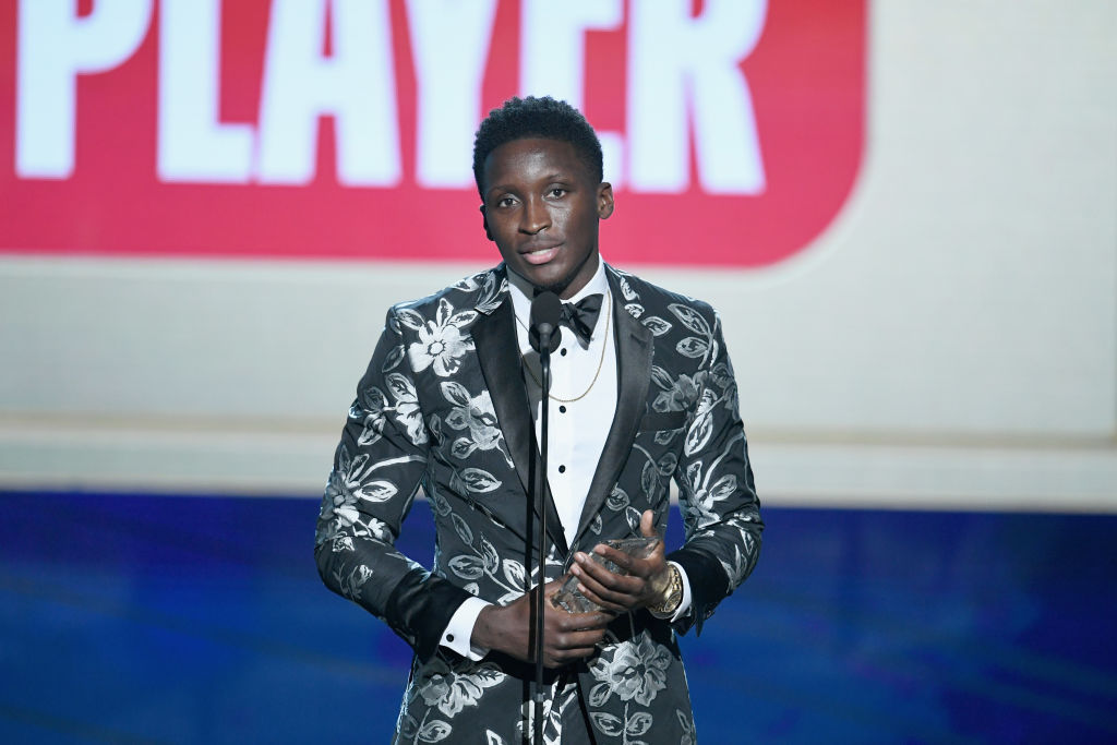 Victor Oladipo wins Most Improved Player at #NBAAwards | Watch