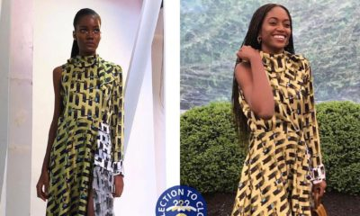 BN Collection to Closet: Zara Odu in Lisa Folawiyo Studio