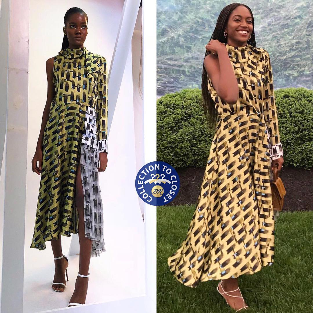 BN Collection to Closet: Zara Odu in Lisa Folawiyo Studio