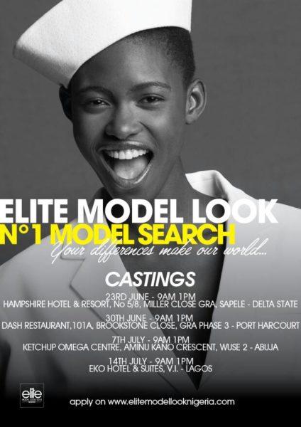 Elite Model Look Nigeria Casting
