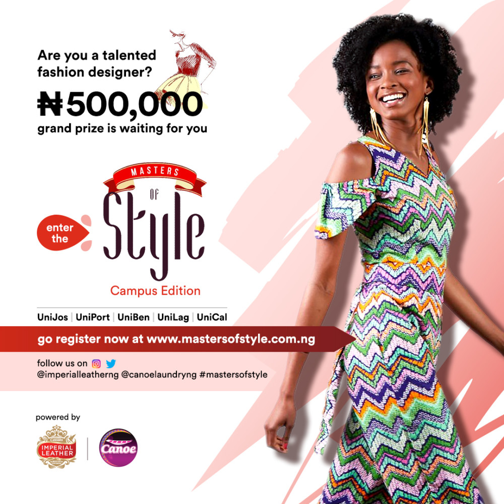 Win N500 Thousand In The Masters Of Style Contest For Fashion Designers