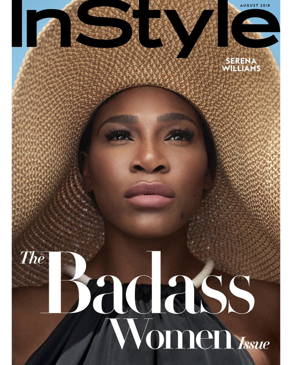Serena Williams Covers InStyle Magazine's Badass Issue