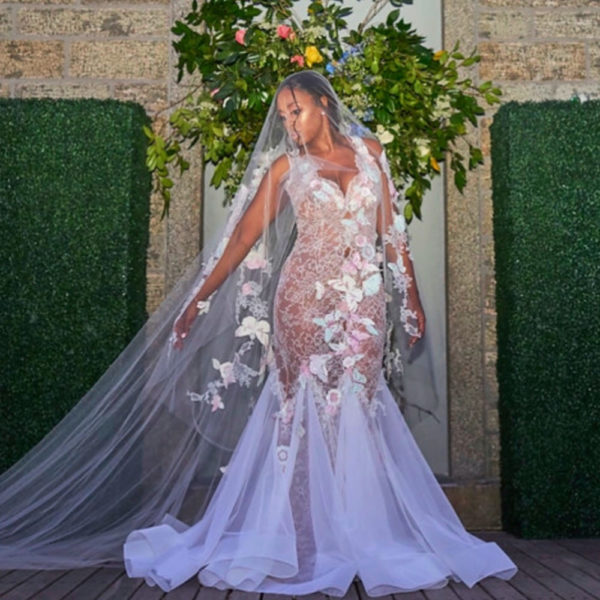 Dresses For Vow Renewal Ceremony: 10 Years And Going Strong! Remy Ma And Papoose Renew Their
