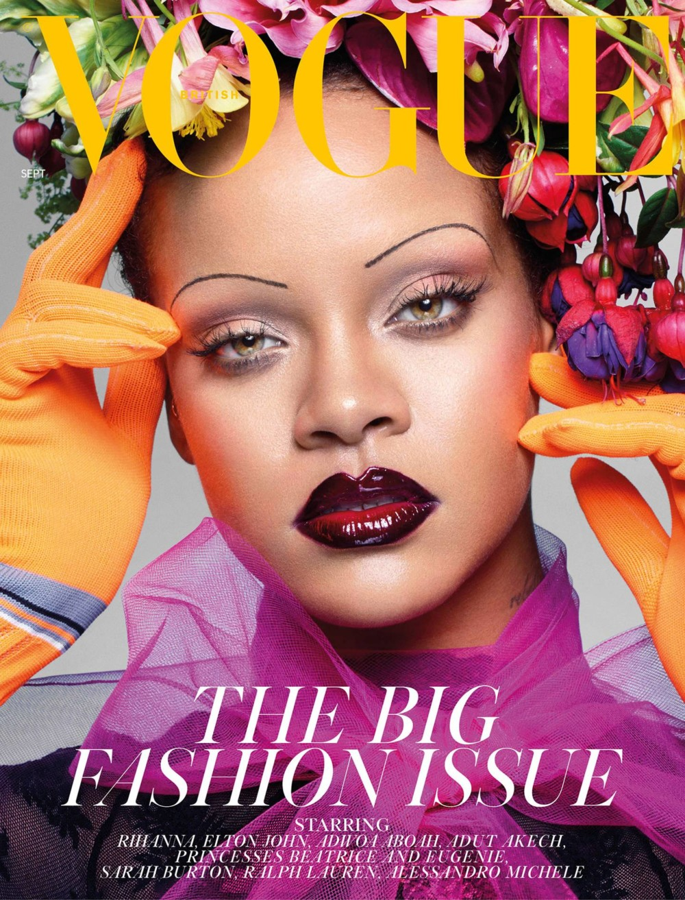 Rihanna Makes History on the Cover of British Vogue