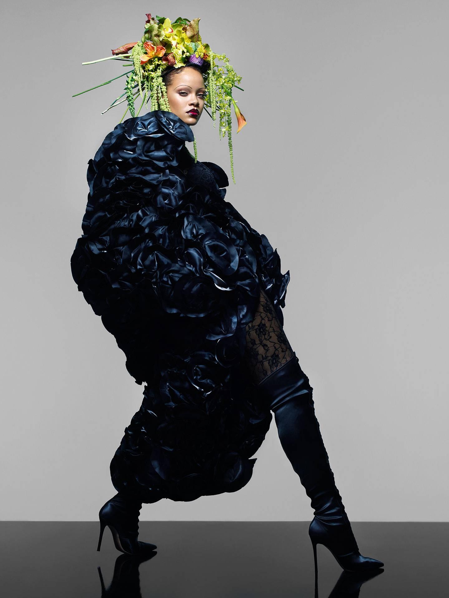 Rihanna Makes History on the Cover of British Vogue's September Issue - Image ~ Naijabang