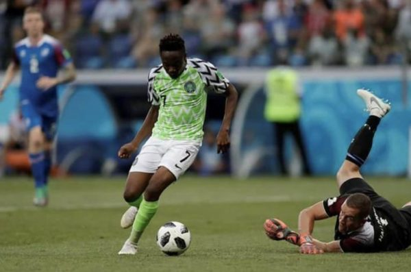 Ahmed Musa's World Cup Goal against Iceland shortlisted for Goal of the Tournament | BellaNaija