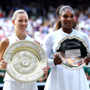 Angelique Kerber wins first Wimbledon Title after defeating Serena Williams
