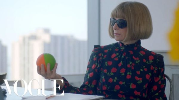 Anna Wintour's ad for the AWOK Air Jordan shows her Secret Talent | BellaNaija