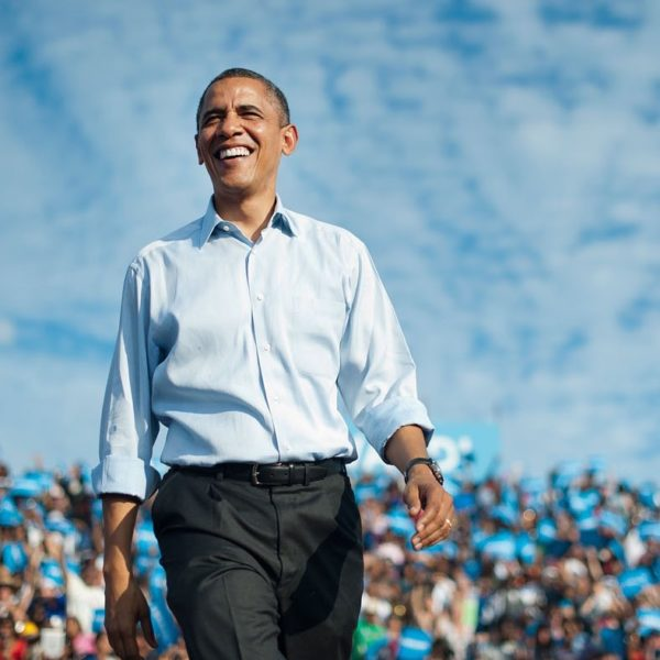 Obama shows off Dancing Moves beside Grandmother | BellaNaija