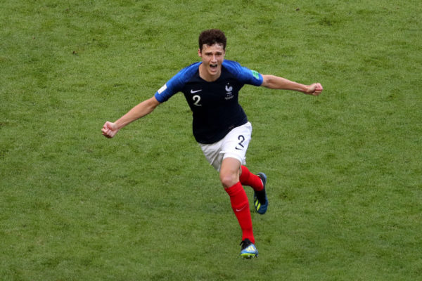 Benjamin Pavard stunner wins FIFA World Cup 2018 goal of the tournament