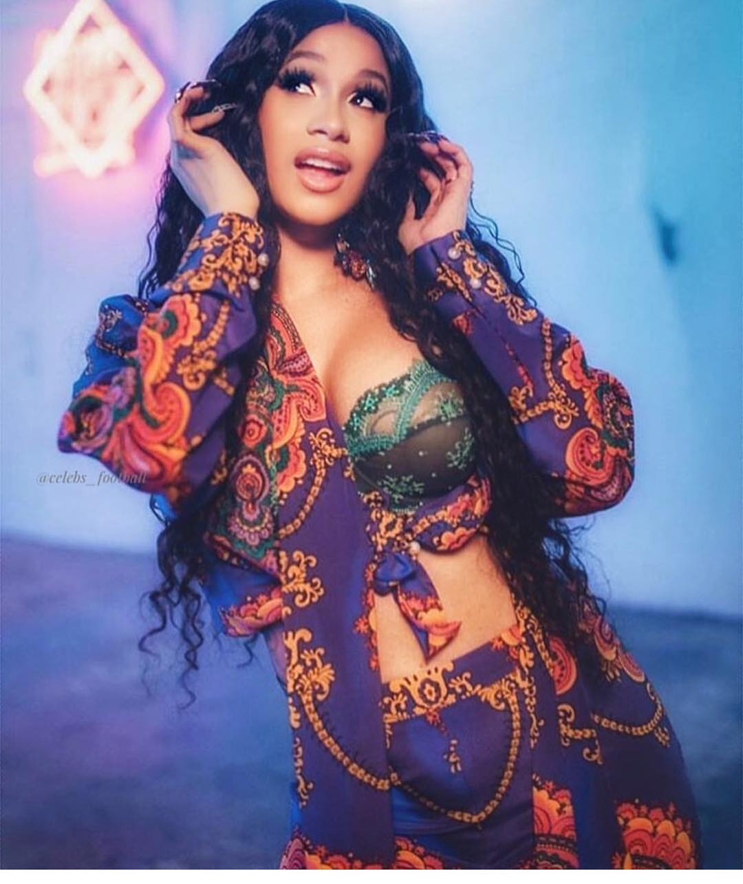 Image result for Cardi B withdraws from Bruno Mars' 'The 24k Magic' Tour as Mommy duties call