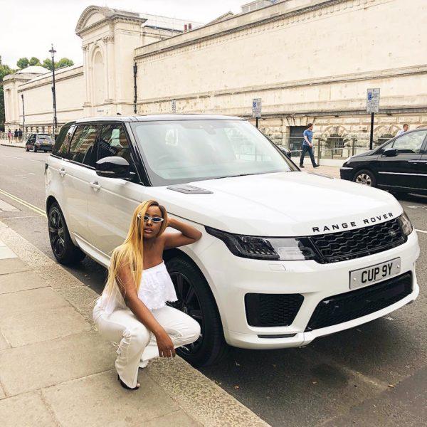 Daddy's Girl! Femi Otedola buys daughter DJ Cuppy new Range Rover Sport | BellaNaija