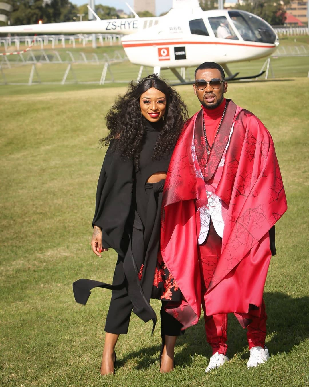 South African Stars Boity Pearl Thusi Minnie Dlamini At