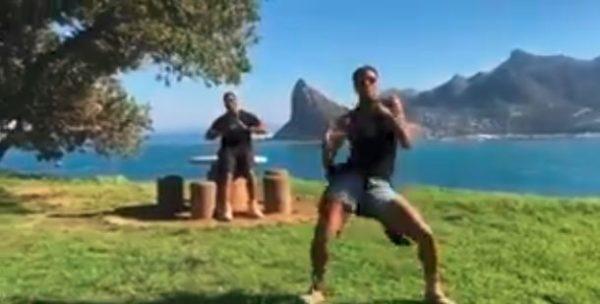 Ciara, Will Smith, Sterling K. Brown hop on the #InMyFeelingsChallenge | BellaNaija