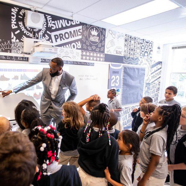 LeBron James opens Elementary School for at-risk Children