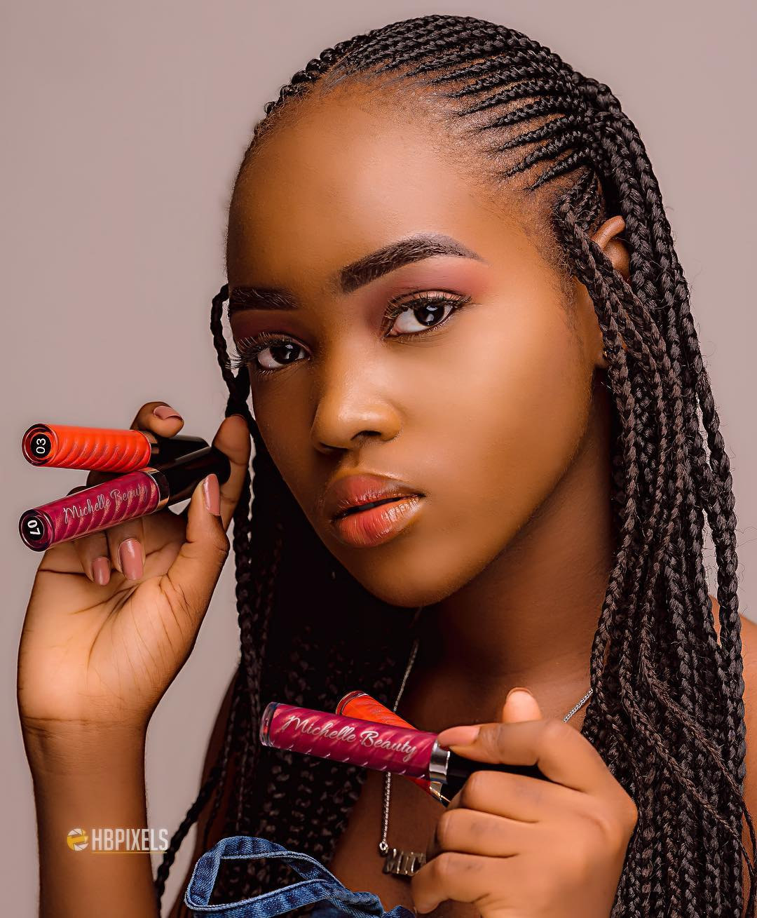 Mercy Aigbe's 17-year Old Daughter Michelle to Launch Lippy Line