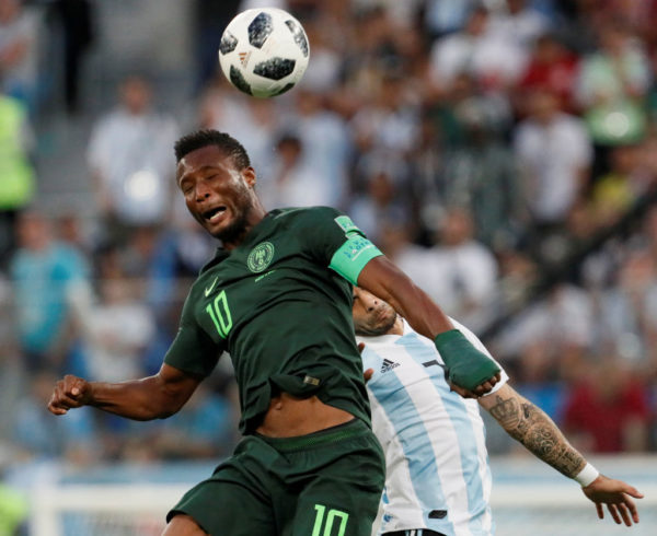 Mikel Obi learnt about Father's Kidnap 4 hours to playing Argentina | BellaNaija