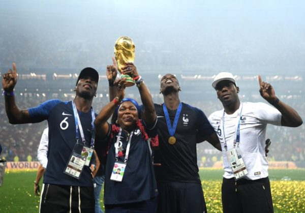 BN Sweet Spot: Momma Pogba lifts the World Cup | BellaNaija