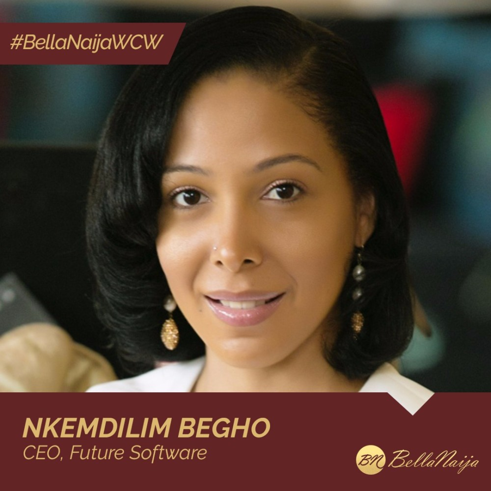ICT Champion Nkemdilim Begho of Future Software is our #BellaNaijaWCW this Week