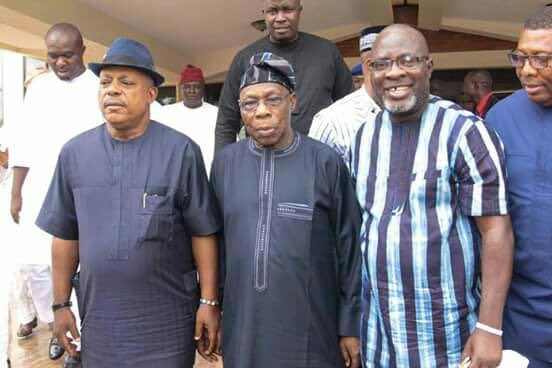 "Obasanjo and PDP ""joins forces to rescue Nigeria"" 