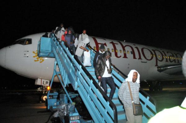 154 Nigerians stranded in Russia return to Abuja | BellaNaija