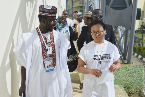 Kaduna state commissioner of planning and World Bank Rep.