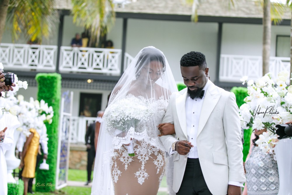 Official Photos Of Ghanaian Rapper Sakordie & Tracy's Wedding