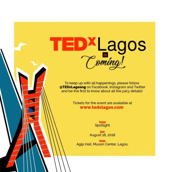 TEDxLagos is Coming