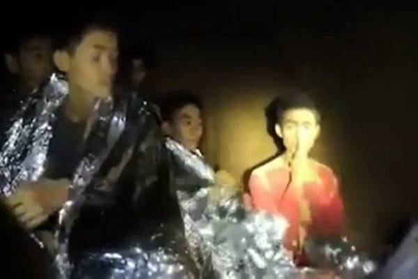 4 Boys rescued from Thailand Cave | BellaNaija