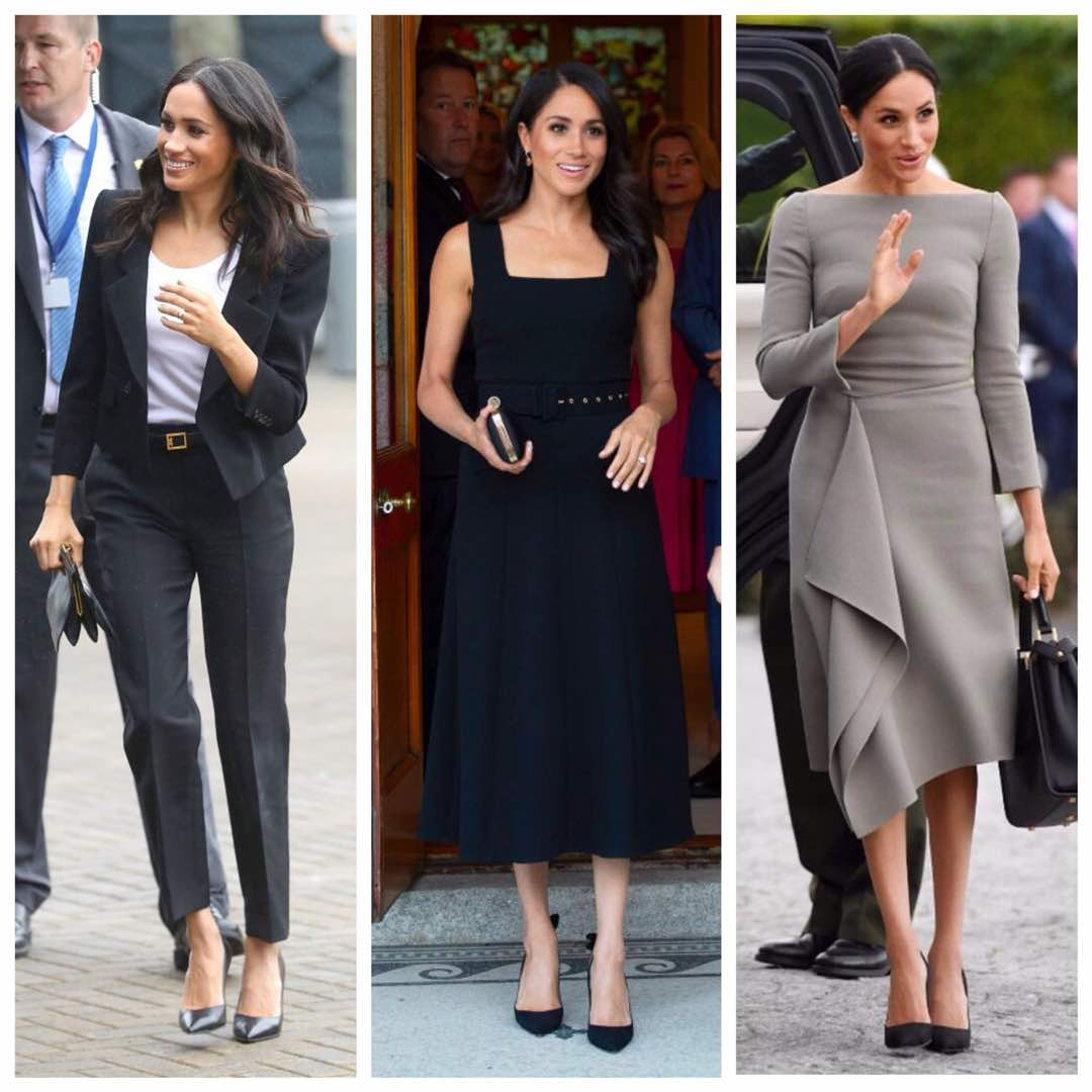 Meghan Markle Wore a Roland Mouret Dress to Arrive at Cliveden House recommendations