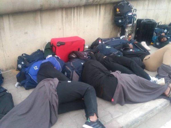Zimbabwe's National Rugby Team sleep on the Street in Tunisia | BellaNaija