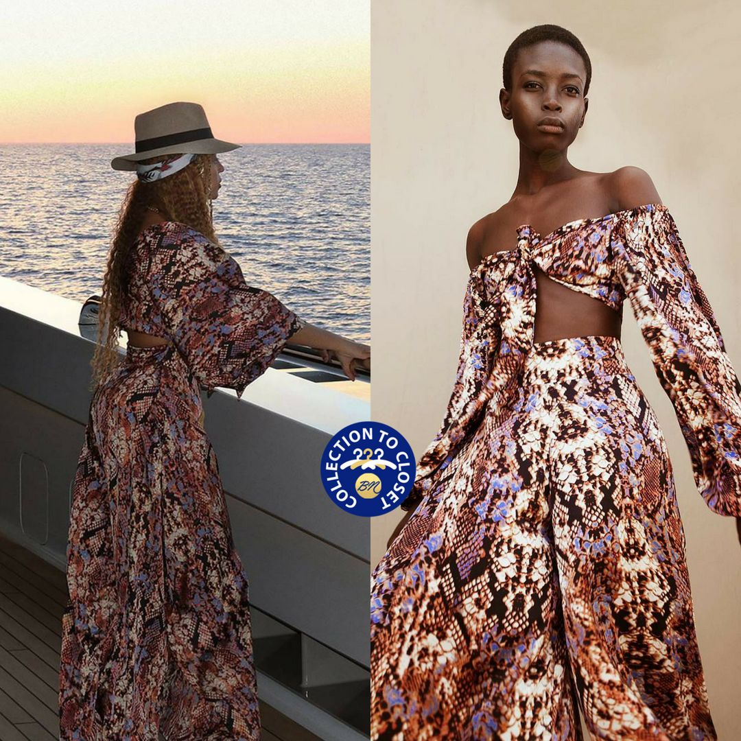Image result for BN collection to Closet : Beyonce in Tongoro studio