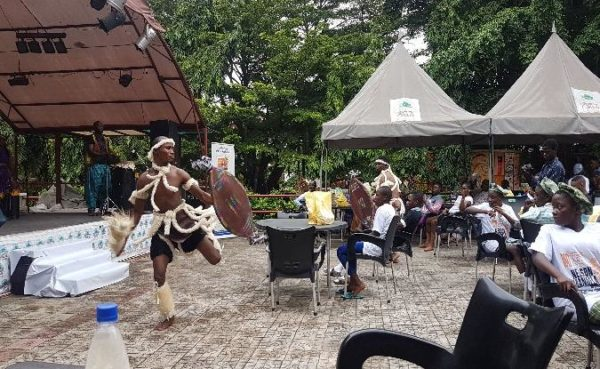 Zulu cultural performance at the Freedom Park