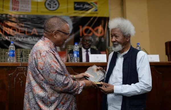 Ambassador Darkey and Prof. Soyinka