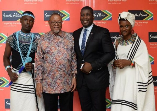 CG, SACL with TRM WA & ushers in Xhosa traditional attire