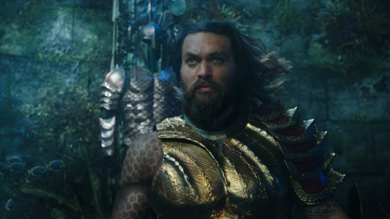First Comic-Con Trailer for James Wan's 'Aquaman' with Jason Momoa