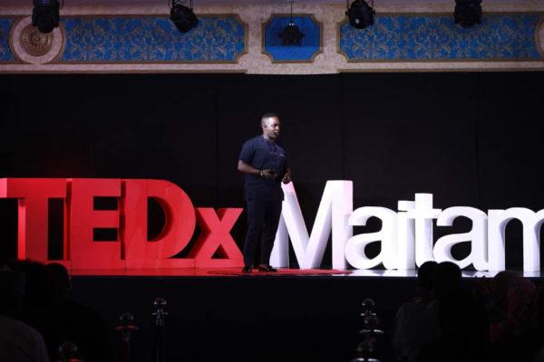 M.I. talks Feminism & Unity at TEDx Maitama | BellaNaija