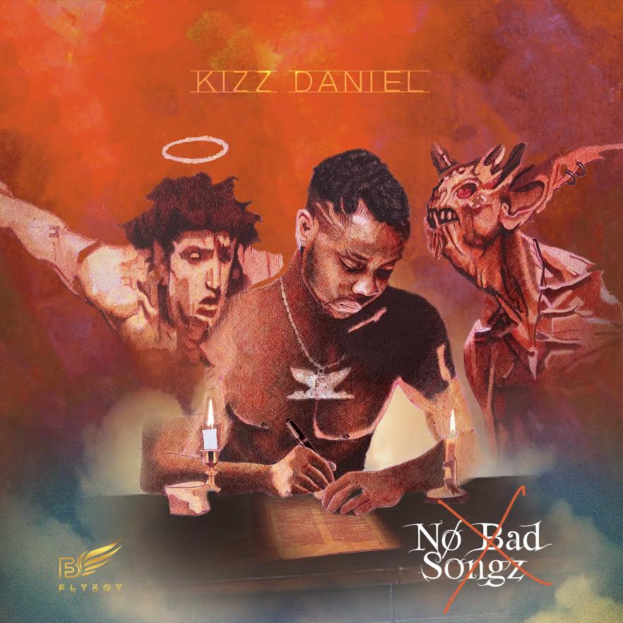 Kizz Daniel releases Cover Art for Sophomore Album 'No Bad Songz'