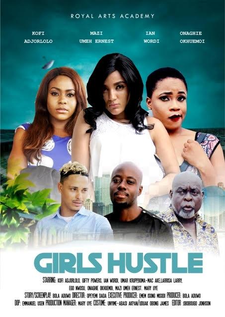 Must Watch Trailer #BBNaija's Gifty, Kofi Adjorlolo, Ego Nwosu & Larissa Larry star in 'Girls Hustle'