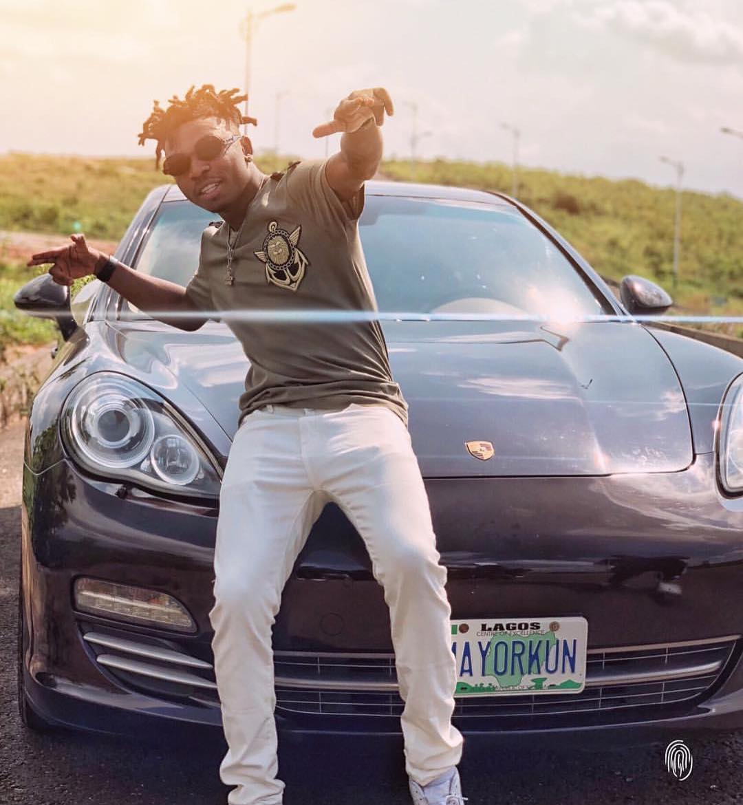 DMW's Mayorkun shows off his New Porsche - Photo - Image ~ Naijabang
