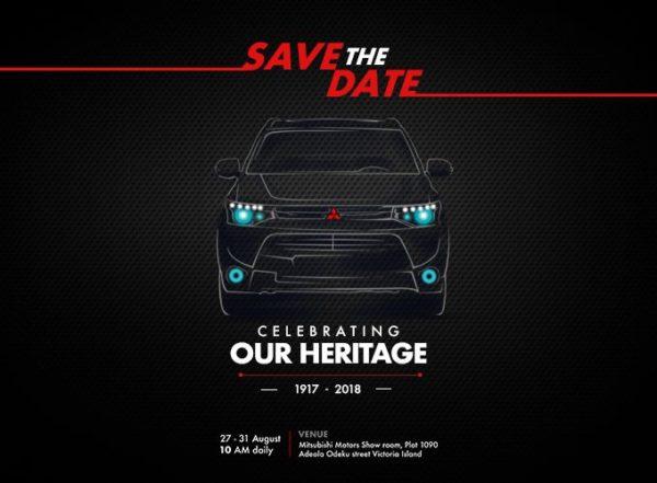 Mitsubishi Motors Celebration Banner