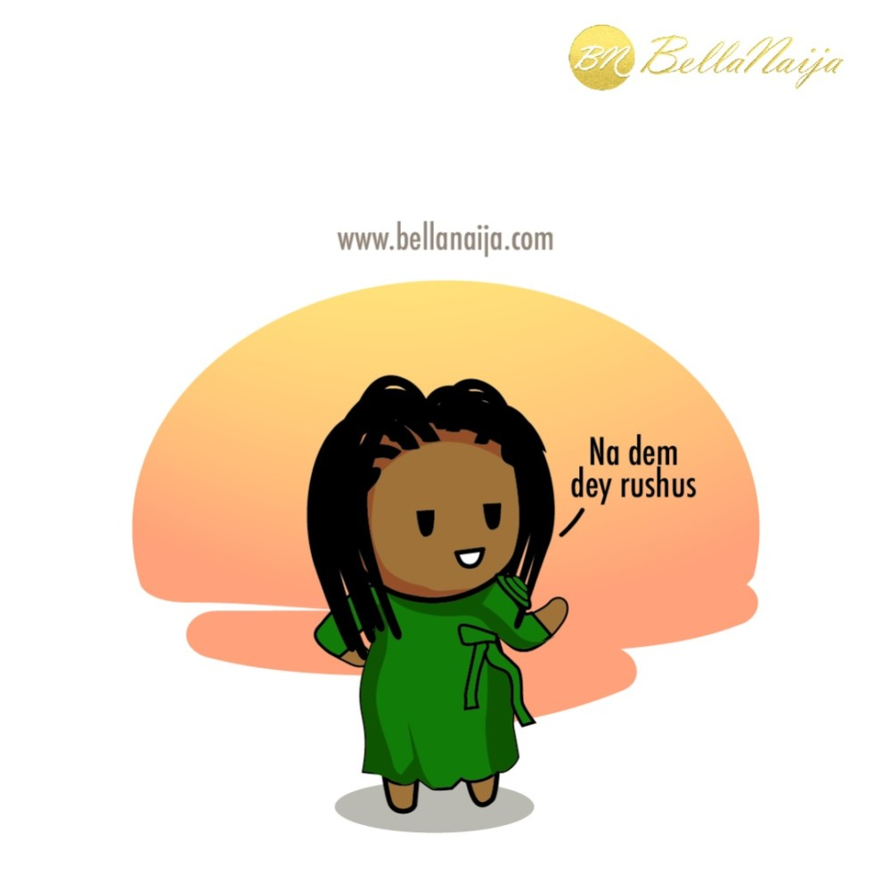 Lil' Bella says: Confidence is Everything… Na Dem Dey Rush Us!