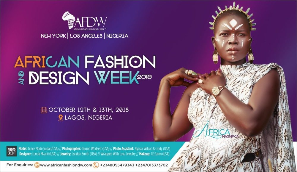 Celebrating The Best Of African Fashion Get Ready For The 7th Edition Of African Fashion And Design Week L October 12th 13th Bellanaija