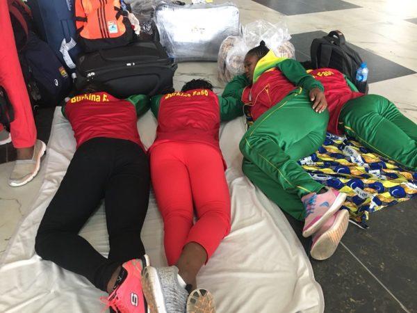 Asaba 2018: African Athletes stuck at Lagos Airport since Monday