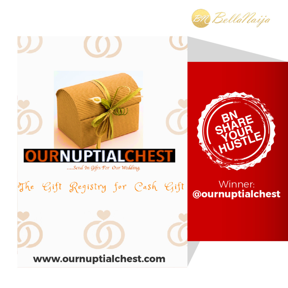 Cash Wedding Registry.Bnshareyourhustle Vol 10 Our Nuptial Chest Is Your Gift Registry