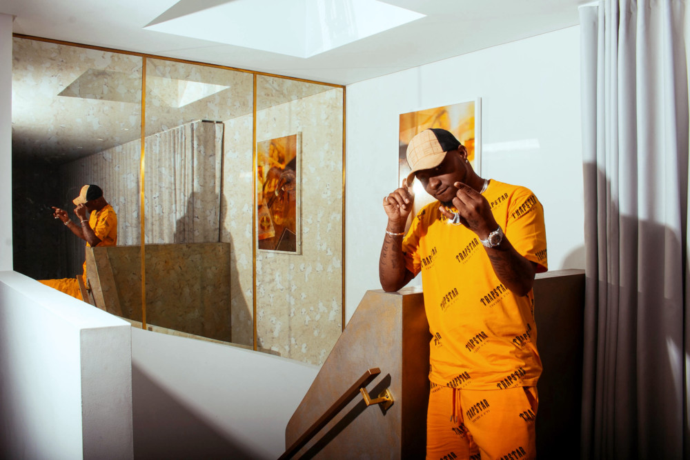 Davido Talk his Wireless Performance, his Love for Africa & More in Pause UK Magazine - Image ~ Naijabang