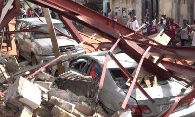Tragedy strikes in Delta Stadium, Water Tanker Collapse on Vehicles