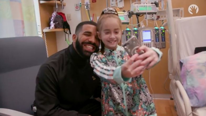 Drake Surprises 11-Year Old fan waiting for a Heart Transplant